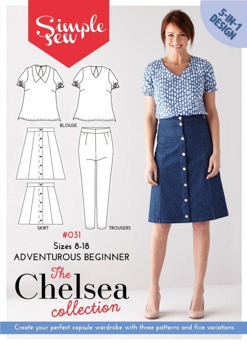 01 Chelsea blouse